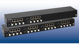 MaxiiCopper Vi2408/Vi2416 coax Ethernet extender hubs