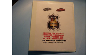 Training kit for vehicle inspection for VBIEDs