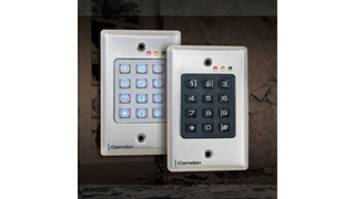 Camden introduces new CM-120 Series digital keypads