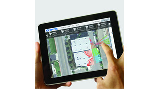 'MyOptex' project layout iPad application