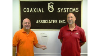 Fluidmesh names Coaxial Systems Associates as its 'Rep of the Year'