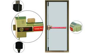 230x multi-point locking security door hardware