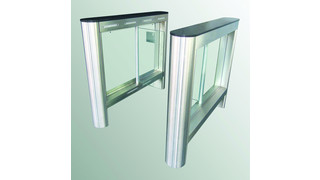 Fastlane GlassGate 150 optical turnstile from Smarter Security