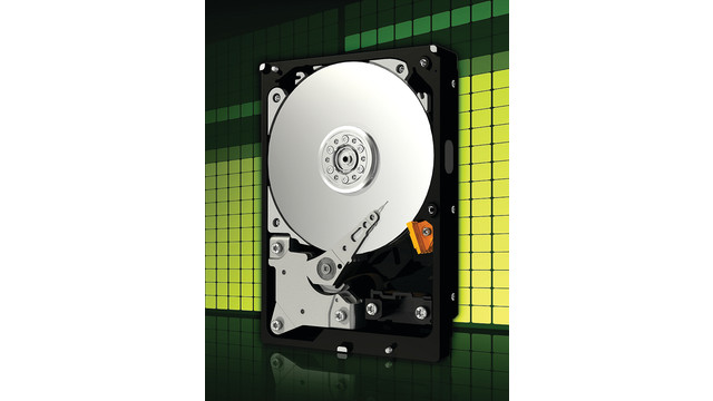 Large-Capacity WD AV-GP SATA Hard Drives