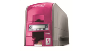 Datacard Group offers limited edition pink SD260 card printer to support fight against breast cancer