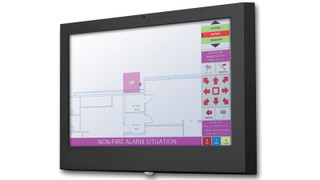 Building Alarm Touch Computer