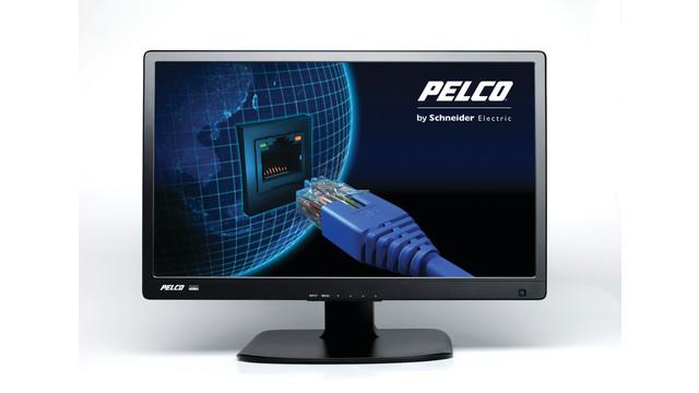 24-inch LED-backlit monitor