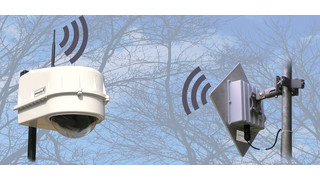 AWD2-900S wireless integrated PTZ dome housing
