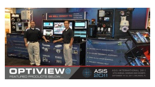 Optiview announces new manufacturing partners at ASIS 2011