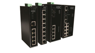 Industrially-Hardened PoE Switches