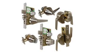 Ligature Resistant Hardware, Hospital Push/Pulls, Mortise/Cylindrical Locksets