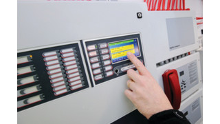 Envision Touch-Screen Fire Panel
