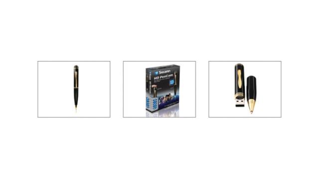 Swann's HD PenCam and PenCam 4GB Covert Surveillance Cameras