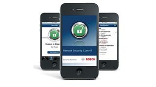 Bosch's Remote Security Control App