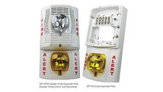 System Sensor's Dual Strobe Expander Plates