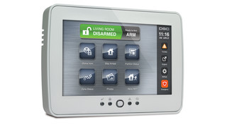 TouchScreen Keypads from DSC