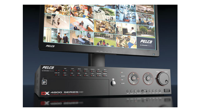 Pelco's DX4700HD and DX4800HD Series Video recorders