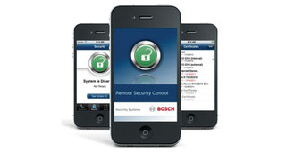 Bosch's Remote Security Control App