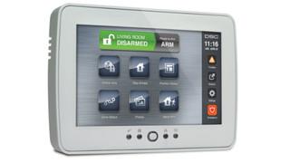 DSC's PowerSeries TouchScreen Keypad