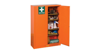 Justrite's Emergency Preparedness Cabinet