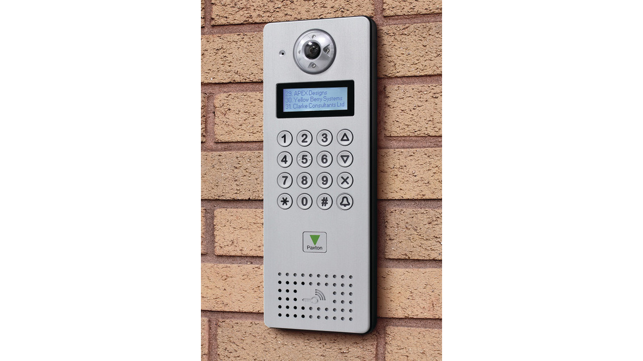 Paxton Access Ip Poe Enabled Video Intercom