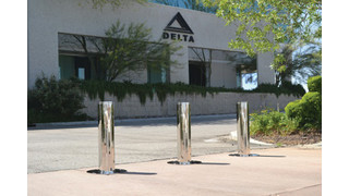 Delta Scientific's pneumatic bollards
