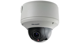 Hikvision's DS-2CD754FWD-EI 2 megapixel 1080p WDR dome camera