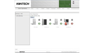 Kantech's hattrix managed access control solution