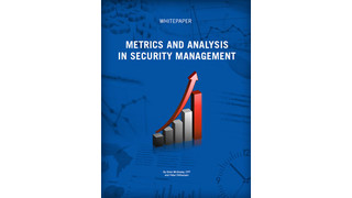 Metrics and Analysis in Security Management