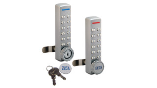 SDC 295 Battery Powered Keyless Cabinet Lock