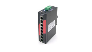 Aaxeon Technologies' LNP-800AGH-24 Industrial PoE Switch