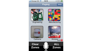 Barix Wi-Fi Paging App