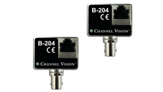 Channel's Vision's B-204 IP Camera Balun Over Coax Converter Kit
