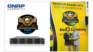 QNAP NVR recognized by Secutech Excellence Awards