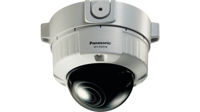 Panasonic's WV-SW559 i-PRO Super Dynamic Full HD Vandal Resistant Dome Network Camera
