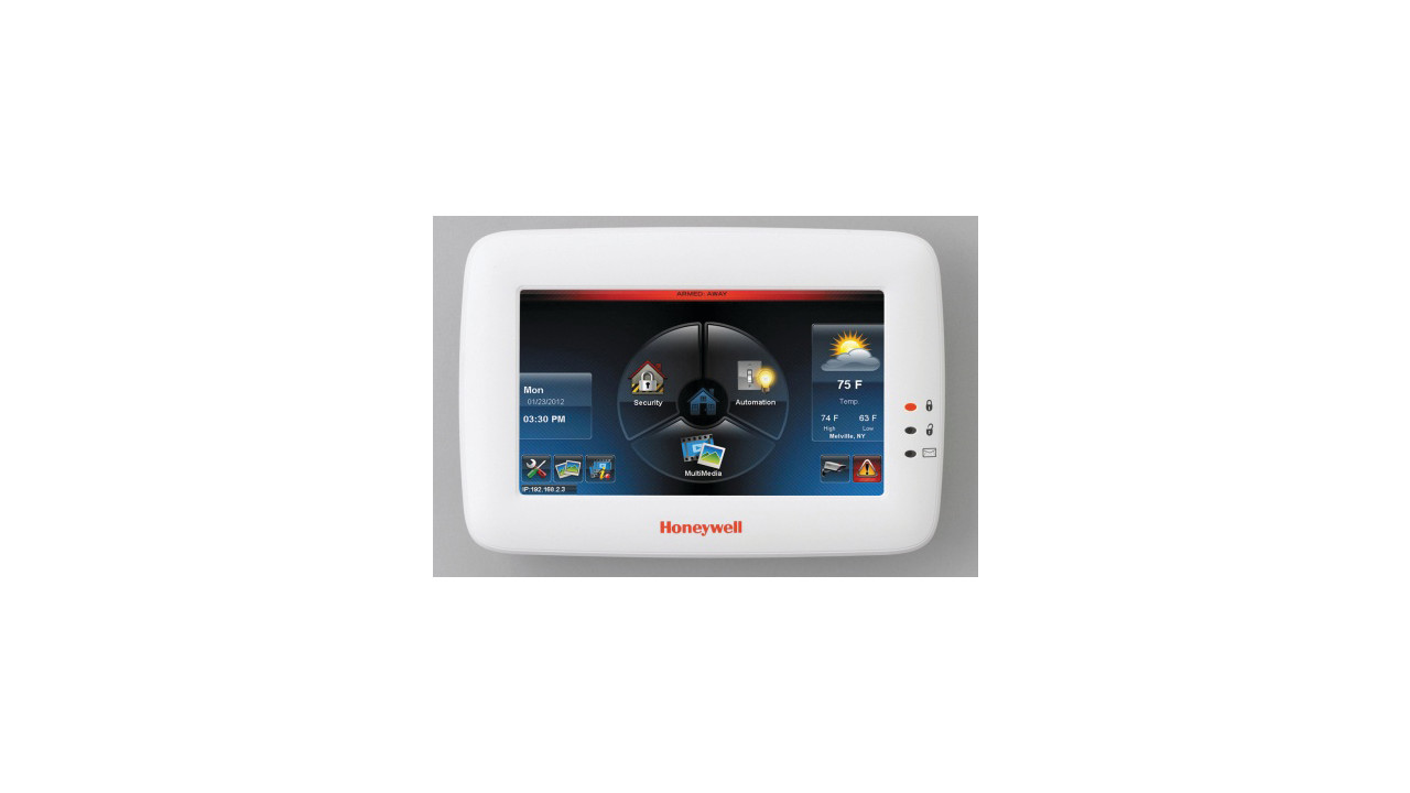 honeywell 39 s wi fi tuxedo touch alarm panel. Black Bedroom Furniture Sets. Home Design Ideas
