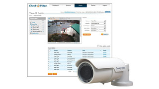 CheckVideo's CV135 High Definition Outdoor Bullet Camera