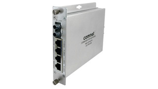 ComNet's CNFE4SMS Self-Managed Ethernet Switch