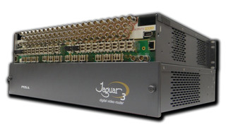 PESA's Jaguar 64X64 3G-SDI Fiber Matrix Switcher