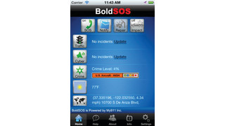 Bold Technologies' BoldSOS Mobile App