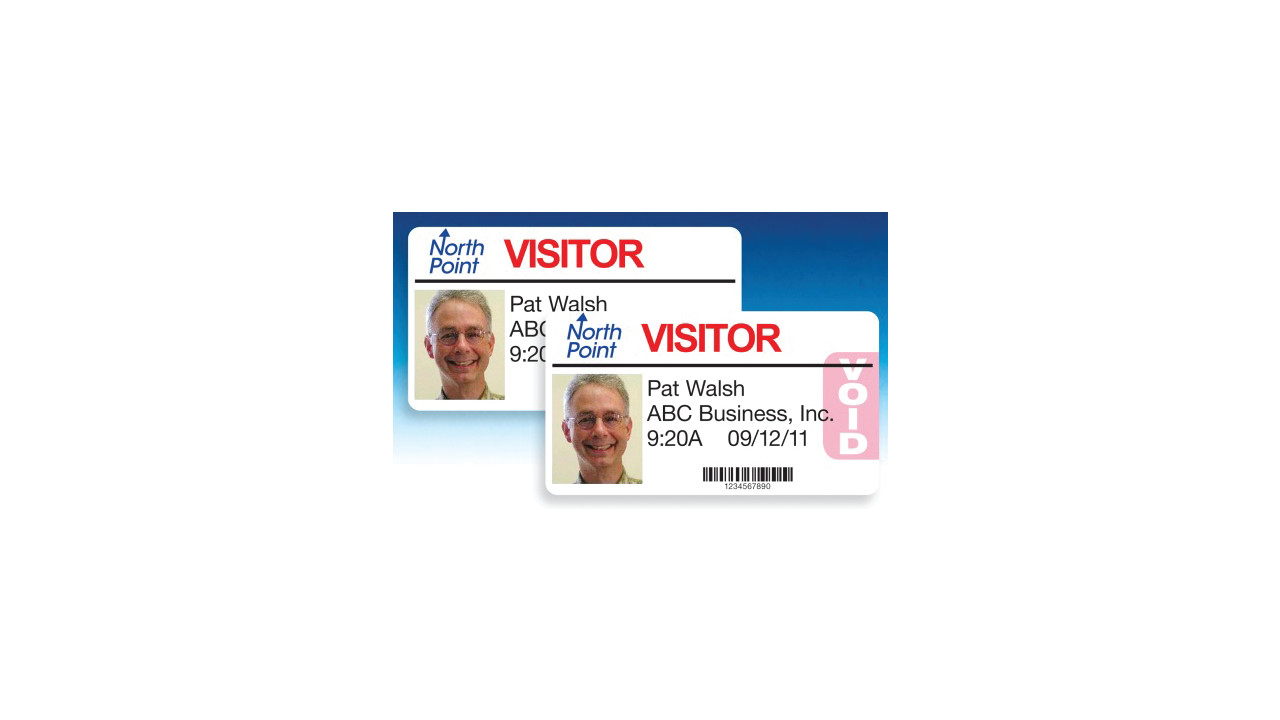 Visitor Pass Solutions Self Expiring Badges For Inkjet