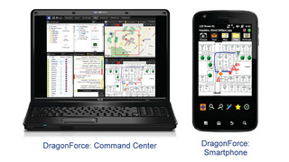 DragonForce command and control software from Drakontas