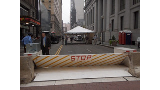 Delta Scientific's MP5000 mobile vehicle crash barriers to help protect Republican and Democratic Conventions