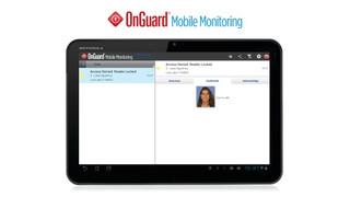 Lenel's OnGuard Mobile Monitoring App