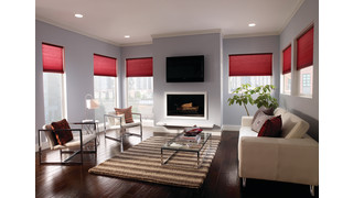 Serena remote controlled cellular shades