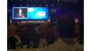 DHS Secretary Napolitano gives cyber security warning at ASIS show