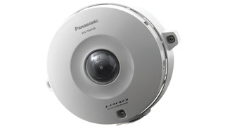 Panasonic's WV-SW458 and WV-SF438 360-Degree Panoramic Megapixel Dome Cameras