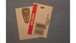 Badgetec's Clip-On Visitor Badge