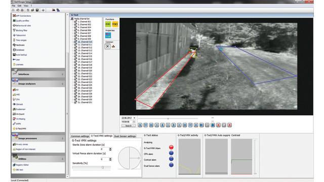 Geutebruck's G-Tect/VMX motion detection solution