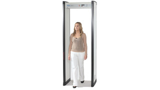 Metor 6S Walk-Through Metal Detector from Rapiscan